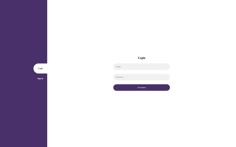 Project Animated Forms Switching