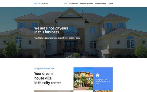 Project House Estates Website